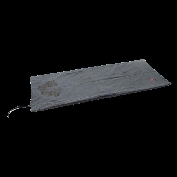 Batteriopvarmelige varmetæppe